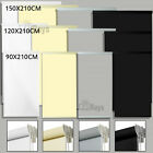 100% BLOCKOUT Polyester Roller Blinds 90cm-150cm (W) x 210cm(L) With Bottom Rail