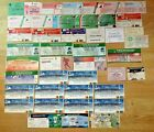 Rugby Union Cup Final Used Tickets 1977 - 2012