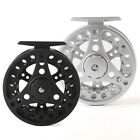 Aluminum Fly Fishing Reel Left and Right Hand -- 2 3 4 5 6 7 8wt Qualified Black