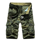 Hot Fashion Mens Camouflage Shorts Cargo Pants Overall Fifth Summer Casual Pants