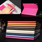 I3C Slim Hand Strap Card Pocket Stand Leather Case Cover For iPad air2 iPad 6 *