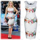 Womens Elegant Floral Summer Cocktail Party Dress Casual Club Short Prom Dresses