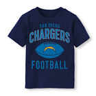 NFL San Diego Chargers Football Boy or Girl T-Shirt  Toddler   Size-3T $11.04 USD on eBay