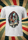 Disney Princess Sally Skellington Before T Shirt Vest Top Men Women Unisex 130