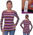 Romeo & Juliet Couture Multi-Color Striped Top