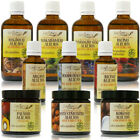 100 PURE ORGANIC VIRGIN CARRIER OILS  Unrefined  Cold pressed
