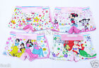 10PCS Cute Cotton Boxer Briefs Underwear Underpants for Girls Kids Size: 2T-9T