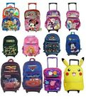 "16"" Substantial School Rolling Backpack Back Pack Backpacks for Kids Girls Boys"