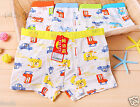 10PCS Animal Car Modal Boxers Briefs Underwear Underpants for Boys Kids 4T-13T