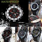 HOT Men Women Stainless Steel Luxury Sport Analog Quartz Wrist Watch Waterproof