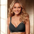 Bali Comfort Padded Wirefree Shaping Bra - Style 3463 - Featuring Black