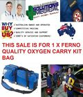 FERNO 5120 OXYGEN CARRY KIT BAG ONLY NO CONTENTS QUALITY ITEM
