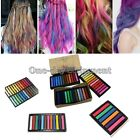 Non-toxic Temporary Soft Hair Chalk Dye Pastels Salon Kit Show 6 / 12 / 24 / 36 Colors