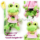 Kids Toddler Plush Backpack Walk Keeper Safety Anti-lost Harness w Leash