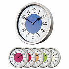 Roco Verre Modern Vintage French Style Polished Cased Wall Clock