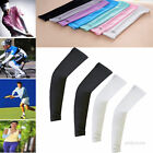 1Pair Sun Protective UV Block Arm Sleeves Cooling Cover Cycling Basketball Sport