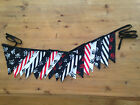 Pirate Bunting, Birthdays, Parties, Carnivals, Hand Made, Double Sided Cotton.