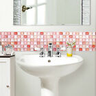 Home Décor WHOLESALE Anti Fungal Waterproof Bathroom Easy Mosaic Sticker Red