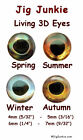 LIVING 3D HOLOGRAPHIC EYES - BEST OF THE BEST!  -  - SHIPS FROM USA