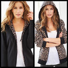 Avon Reversible Leopard Print Fleece Jacket  ~ Choose Your Size ~ New