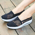 Hot Womens Girls Sweet Mesh Wedge Espadrille Athlettic Boot Summer Spring Shoes