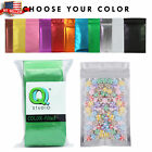 colored zip lock bags - Many Colors for 100 Clear & Colored Foil Mylar Zip Lock Bags 8.5x13cm (~3x5in)