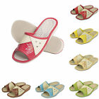 Womens Genuine Leather Slippers Shoes Mules Sandals, Size 3 4 5 6 7 8, NB91