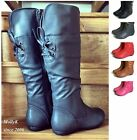 New Toddler, Girls Kid's Causal Cute Flat Heel Lace Zipper Boot Shoes Size