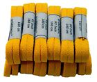 Case Bulk 12 Pair Pack Chuck Style 8mm woven Flat Athletic TEAMLACES(tm) *NEW*