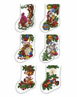 "ABC Designs Woods Stockings Machine Embroidery Cross Stitch Designs 5""x7"" Hoop"