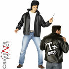 Mens Grease T-Bird Jacket Danny T Bird  50s Fancy Dress Costume Size 38 - 50