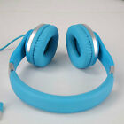 Kids Children DJ Over Ear Headphone Headset with Microphone Mic for Ipad Ipod PC