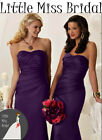 Cadbury Purple Bridesmaid Dress Dresses Evening Ball Party Prom Formal Wedding