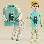 "Vaenait Baby Toddler Kids Girls Boys Clothes Pyjama Set ""Bear Friend"" 12M-7T"