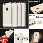 Super Thin 0.3mm TPU Shine Glitter Case For iPhone 5 5S 6 6Plus S6 Edge Note 4