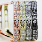 Luxury Snake Head Bling Diamond Metal Bumper Frame Case cove For iPhone 5 5S