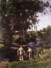 Summer, 1901 by Ferenczy (classic male art print)