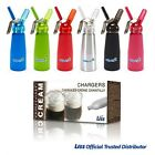NITROUS OXIDE CREAM CHARGERS AND CREAM WHIPPERS NOS N2O FREE NEXT DAY DELIVERY
