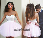 Cheap Short Prom Bridesmaid Dresses Sequin Cocktail Homecoming Dresses Size 4-16