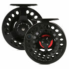 3/4/5/6/7/8/9/10 WT Fly Reel Large Arbor Aluminum Black Fly Fishing Reel