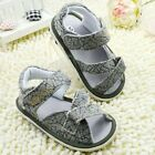 Toddler Baby boys Velcro bottom Sandals Size 0-6 6-12 12-18 month