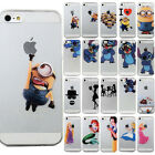 Disney OTTER MK Cartoon Hard Protector Mobile Phone Case For iPhone 5S 5C 6 Plus