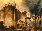 Classic Patriotic Art Print: The Storming of the Bastille, Jean-Pierre Houel