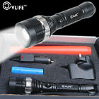 Super Bright CREE XM-L T6 LED Adjustable Focus Rechargeable Flashlight Torch UK