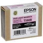 GENUINE EPSON STYLUS PRO T580B VIVID LIGHT MAGENTA INK CARTRIDGE (C13T580B00)