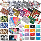 4IN1 Rubberized Hard Case Laptop Cover for MAC Macbook Pro 13/15 Air 11/13 inch