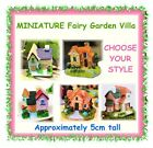 MINIATURE villa house - 5cm tall - CHOOSE YOUR STYLE - terrarium fairy garden
