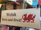 wooden welsh dragons