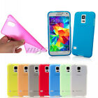 Matte Frosted Ultra Thin TPU Gel Soft Back Case Cover For Samsung Mobile Phone