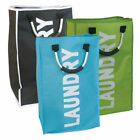 Large Laundry Bag Basket Hamper Polyester Single Pop Up Bag Home Clothes Storage